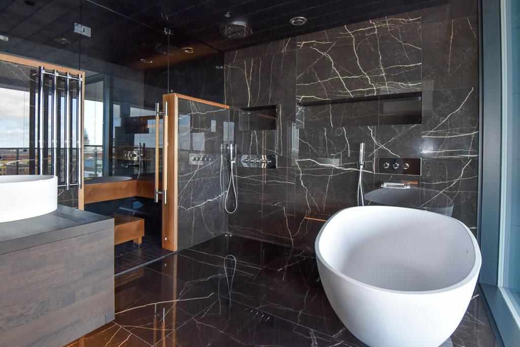baños de lujo mármol