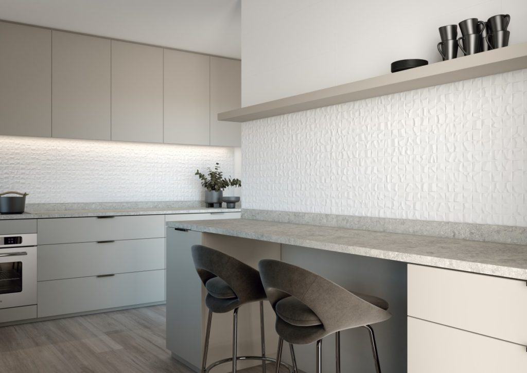 CERAMIC TRENDS - WHITE KITCHENS